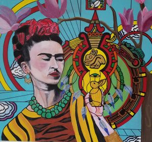 (All of WCRC) Art Opening: The Many Faces of Frida: Revisited