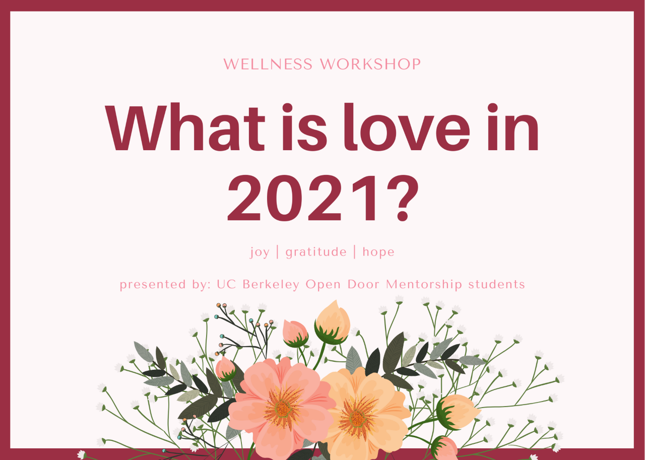 St Valentine's Day of Compassion Workshop: Joy Gratitude and Hope in 2021